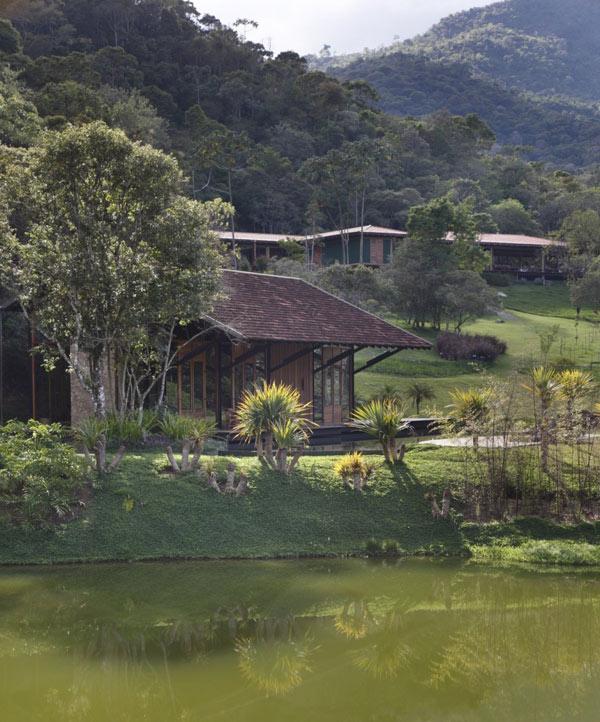 bydlení - dřevostavba v Brazílii
