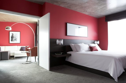 jak vybrat barvy do ložnice
