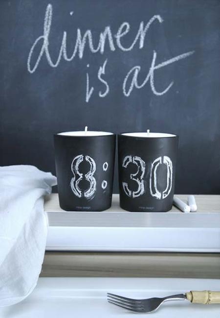 dekorativní svíčky fotografie