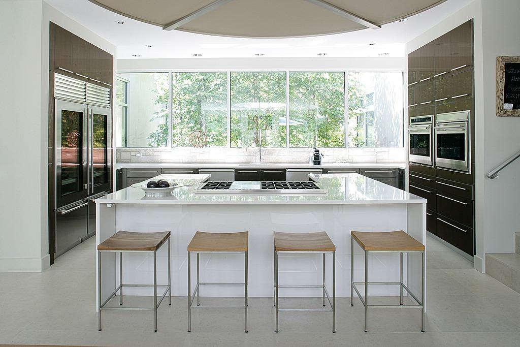 kuchyň nová okna