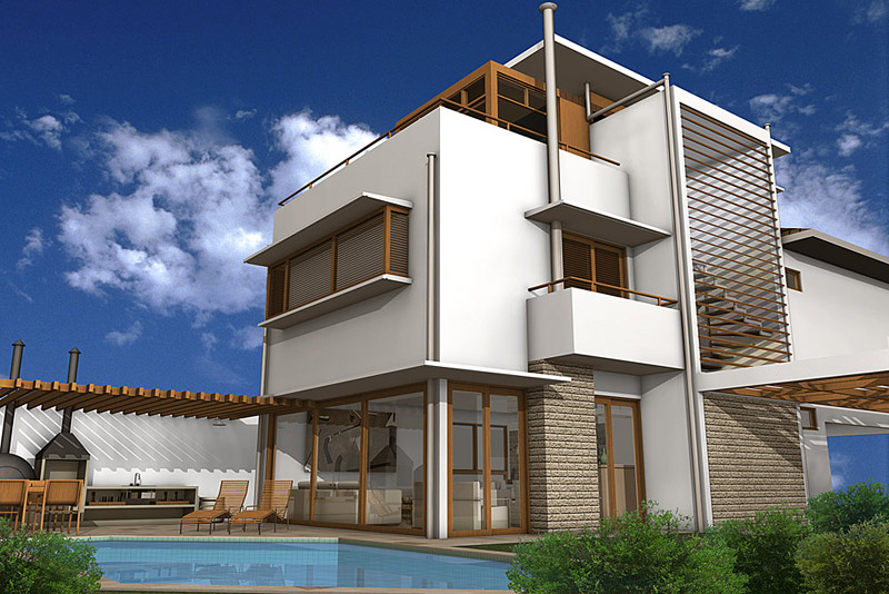 dům - suchá výstavba