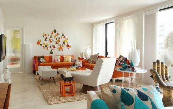 vhodný výběr barev do interiéru