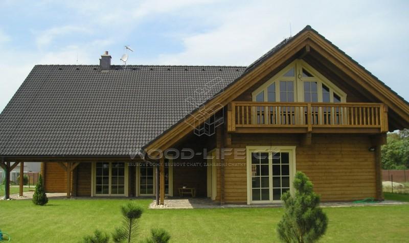 Jak se bydlí v dřevěném srubu