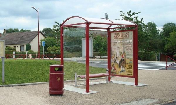 městský mobiliář - zastávka