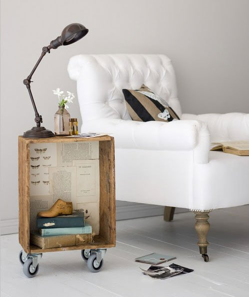 Skvělé nápady na netradiční noční stolky