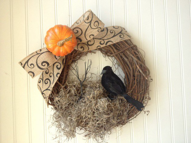 Připravte na Halloween i vchodové dveře