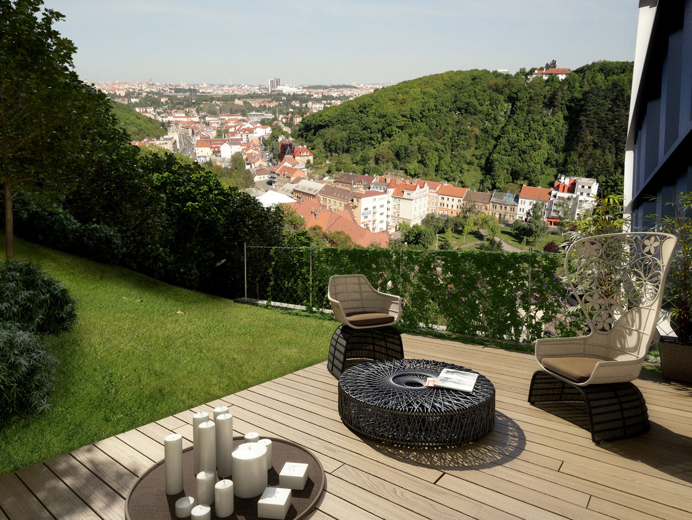 Luxusní byt na Praze 5
