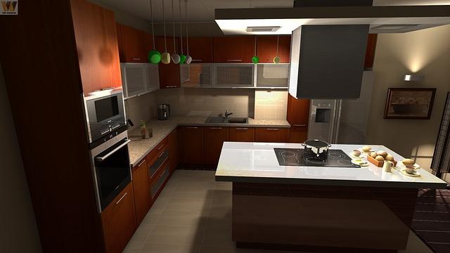 kuchyně - kovové doplňky