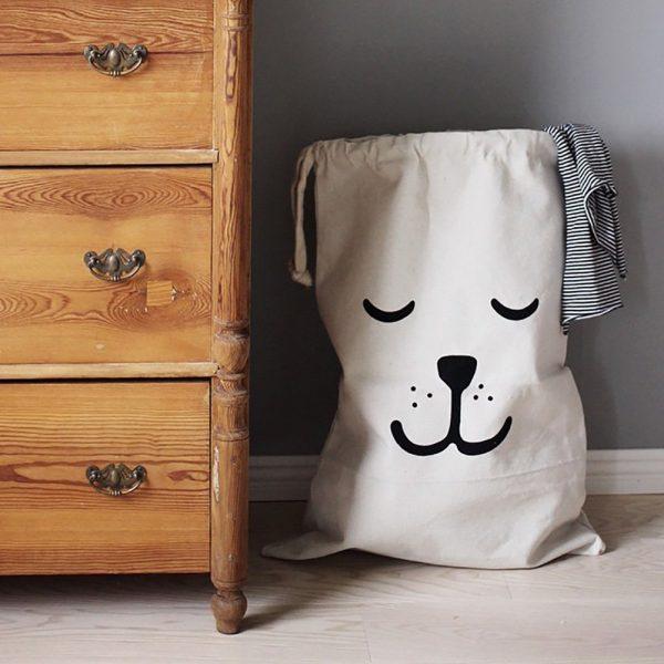 happy-dog-canvas-kids-laundry-basket-600x600