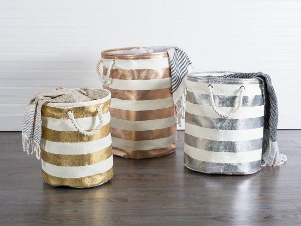 Prádelní tašky a koše pro milovníky designu