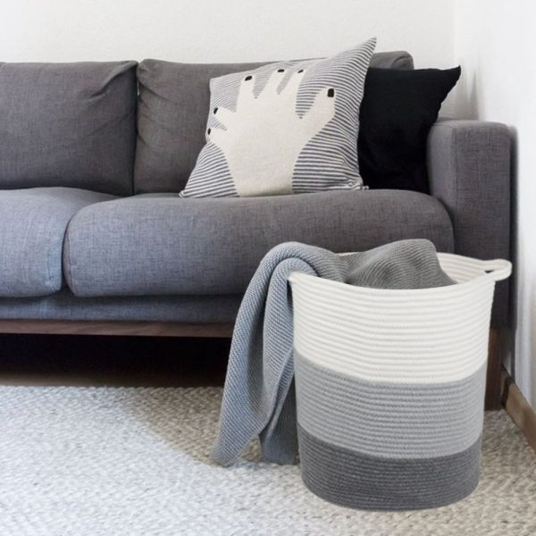 woven-striped-grey-laundry-basket-600x600