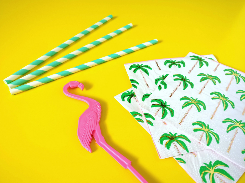 Ingredients-for-a-tropical-party