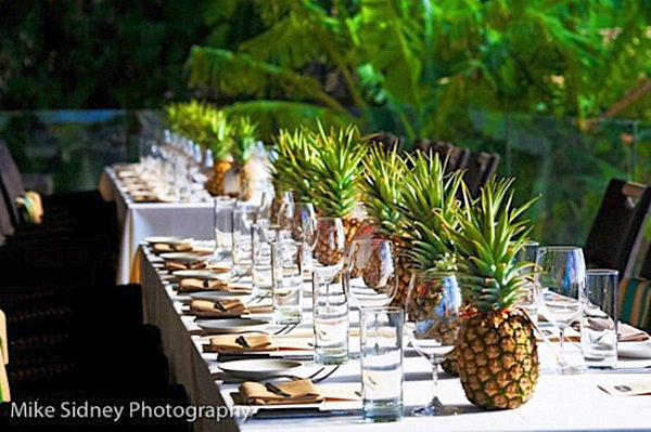 Pineapple-table-centerpiece