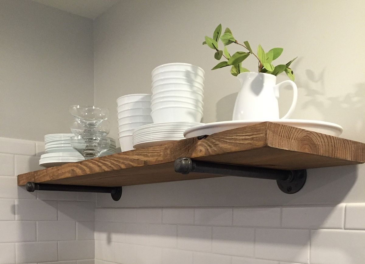 Simple-DIY-industrial-rustic-shelf-idea