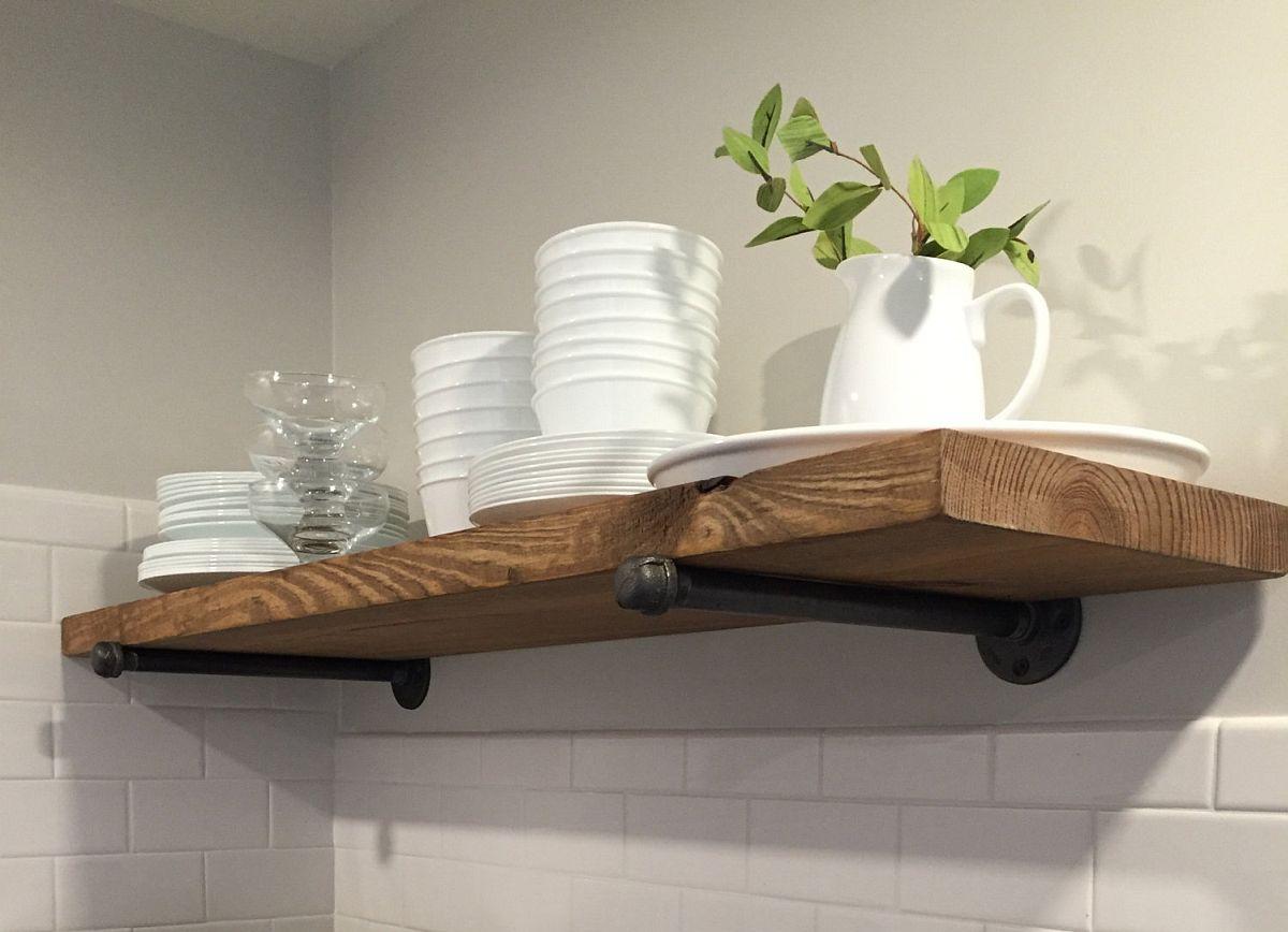 Simple-DIY-industrial-rustic-shelf-idea